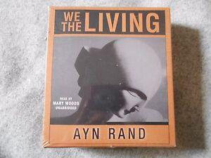 Ayn-Rand-We-The-Living-Unabridged-Audiobook-Audio-Book-on-CD
