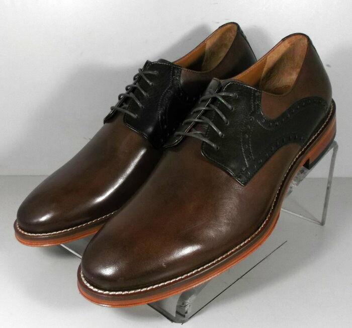 592073 ES50 Chaussures Hommes Taille 12 M marron en cuir à lacets Johnston & Murphy
