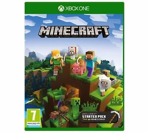 Minecraft-Xbox-One-1-Game-includes-Starter-Collection-DLC-Pack-NEW-amp-SEALED-UK