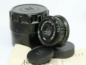 Industar-50-2-50mm-f3-5-Russische-BOKEH-Portrait-Objektiv-DSLR-m42-Mount-alt-Vintage