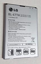 OEM LG Optimus G Pro 2 F350K F350S F350L D837 Standard Battery BL-47TH 3200mAh