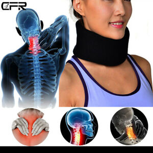Medical-Neck-Support-Cervical-Collar-Traction-Device-Brace-Pain-Relief-Therapy-S