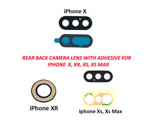 Rear-Back-Glass-Camera-Lens-with-Adhesive-for-iPhone-X-XS-XR-XS-Max-Lot