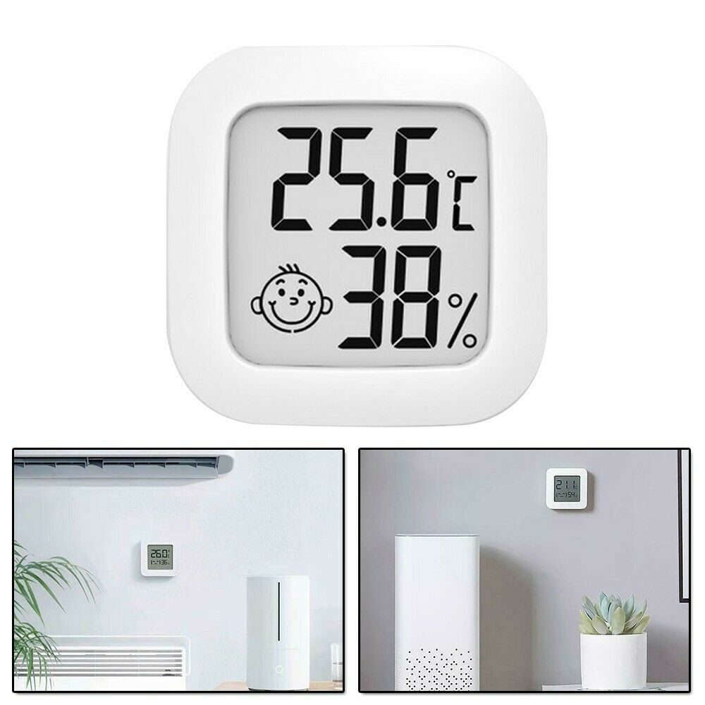 Temperature Thermometer Hygrometer Tools White Accessory Elements Humidity