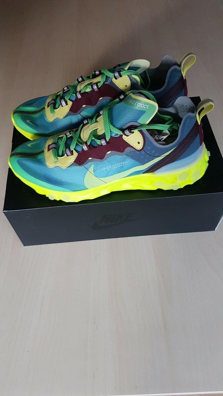 Nike x Undercover React Element 87 Lakeside DSWT US 8, UK 7, EU 41