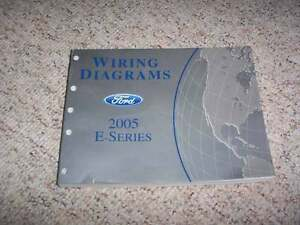 2005 Ford E-Series E150 Electrical Wiring Diagram Manual ...