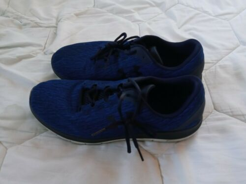 Under Armour Remix Mens Shoes Blue Preowned Size 1