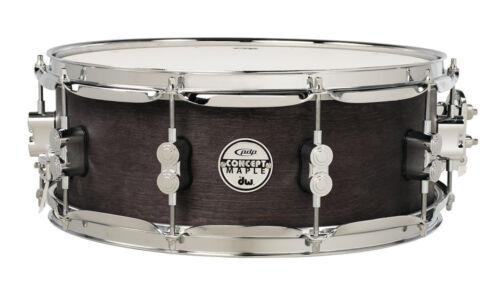 """DW PDP Snare Drum PDSN5514BWCR 14x5,5/"""" Black Wax Rullante Caisse Claire Tarola"""