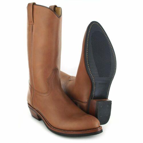 Fashion Boots 650 Espanol Lederstiefel für Damen und Herren Braun Westernstiefel