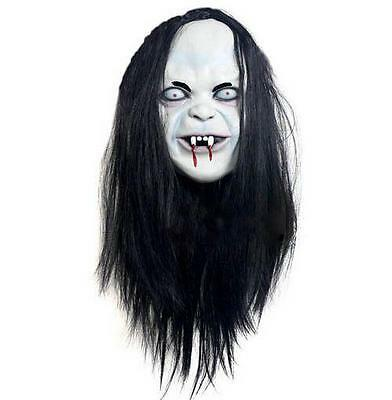 Halloween Scary Full Face Mask Zombie Easter Cosplay Bloody Ghost Custume Prop