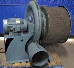 Kuhl Industrial Tba 12 20 Tx 15 Exhaust Fan Blower 32 Motor 20hp 3ph 3500rpm Ebay