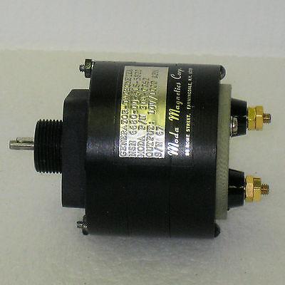 Moda Magnetics 30A-0262 Tachometer Generator NSN 6680-00-618-5821