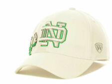 Notre Dame Fighting Irish NCAA Top of the World Molten White One-Fit Hat/Cap