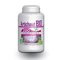 ☆☆☆ Artichaut Bio 200 Comprimés 400 Mg