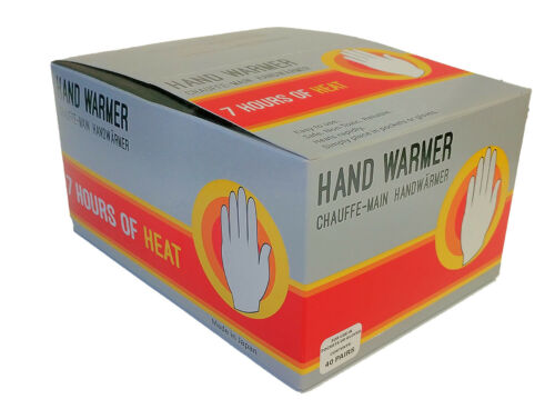 10-40 pairs Use in pocket or gloves. Mycoal  Handwarmer Winter Multi Pack