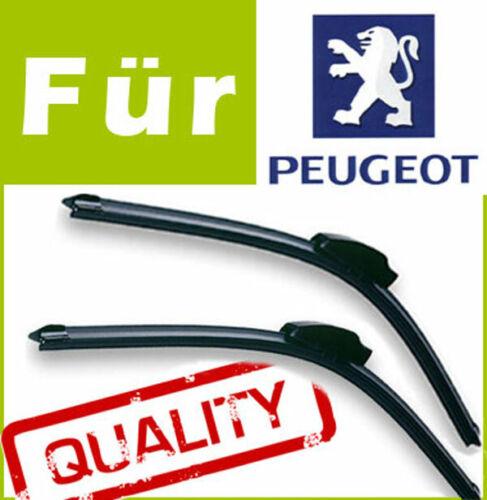 2 Scheibenwischer Wischerblätter FLEX für Peugeot 807 2006-2010 65//65cm