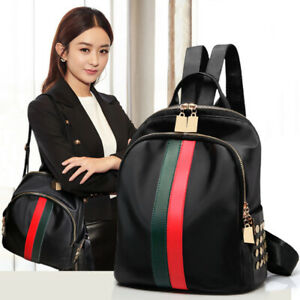 Women-Lady-Nylon-Backpack-Girls-School-Backpack-Travel-Handbag-Shoulder-Bag