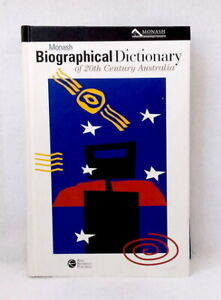 Monash-Biographical-Dictionary-of-20th-Century-Australia-by-John-Arnold-used-HB