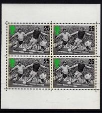 GB 1996 European Football Booklet Pane SG 1926a MNH
