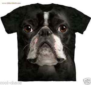 nero T Cravatta Faccia shirt Boston Cagnolino Tintura Terrier 3d Dolce wqIYZRn
