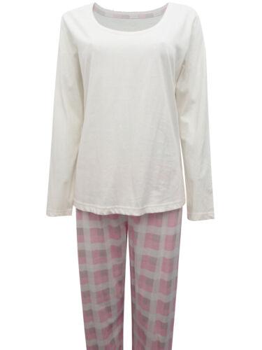 M/&S PINK Super Soft Checked Pyjama Set