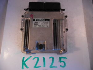 2014-14-HYUNDAI-ELANTRA-COMPUTER-BRAIN-ENGINE-CONTROL-ECU-ECM-EBX-MODULE-K2125