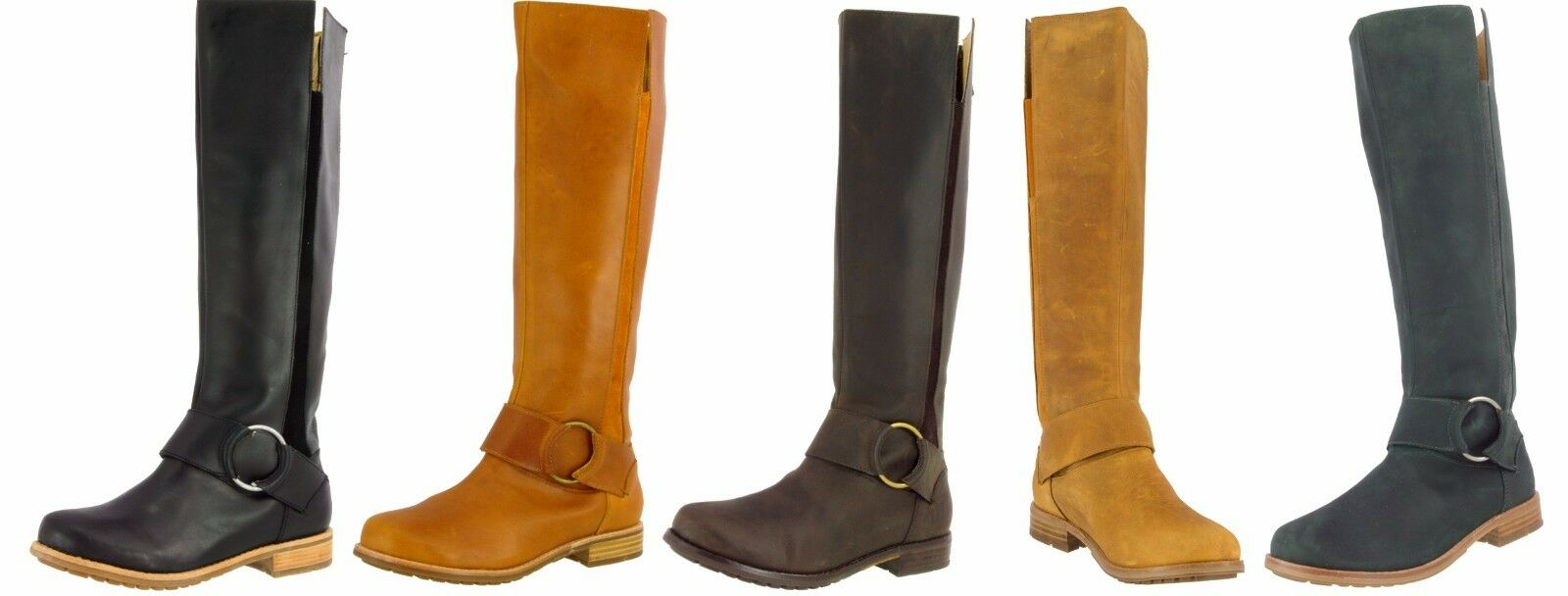 colorways incredibili OLUKAI SAMPLE donna HOLO LIO KNEE KNEE KNEE HIGH OILED FULL GRAIN LEATHER stivali  US 7  risparmia fino al 70%