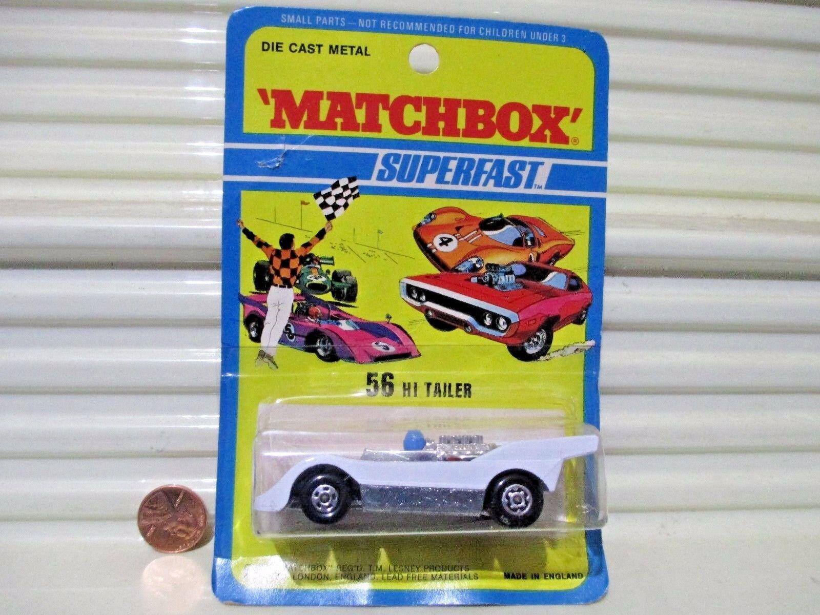 compras de moda online Lesney Matchbox 1974 MB56B blancoo Hi Braddom coche coche coche nuevo controlador Básico Azul Sin Pintar  Ven a elegir tu propio estilo deportivo.