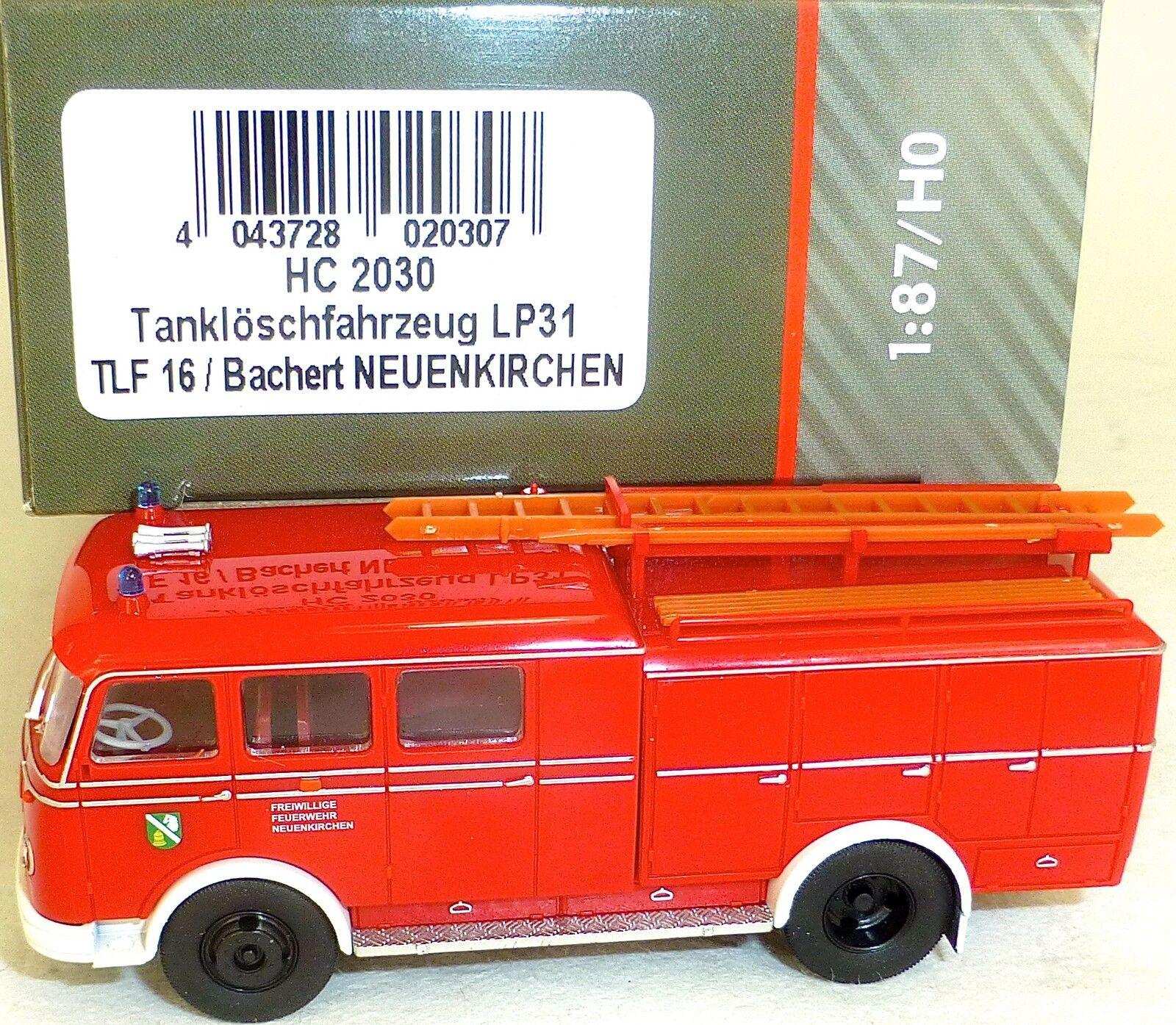 Camion-citerne incendie pour les pompiers LP31 TLF16 Bachert ENKIRCHEN HEICO