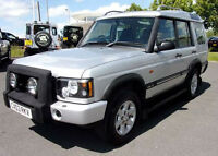 2003 / 03 Land Rover Discovery 2 2.5 Td5 GS Manual - Silver - 7 Seater - 1 Owner