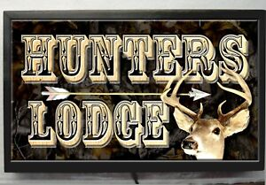 Bow Hunter Parking Only Sign Size Option Hunting Camp Cabin Lodge Decor Hunters