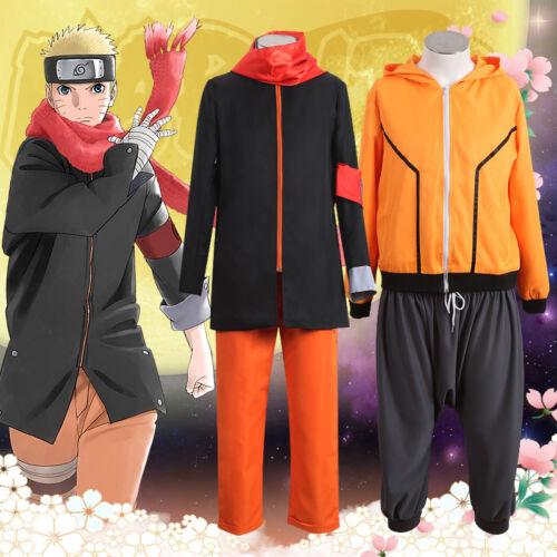 NAruto Uzumaki NAruto,anime partie Costume de cosplay anime complet uniforme