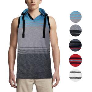 64acf60b Details about Men's Sport Gym Lightweight Sleeveless Slim Fit Tank Top T-Shirt  Hoodie Vest