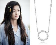 [STONE HENGE]T0727_Silver Necklace/Legend of the Blue Sea/Gianna Jun/全智賢