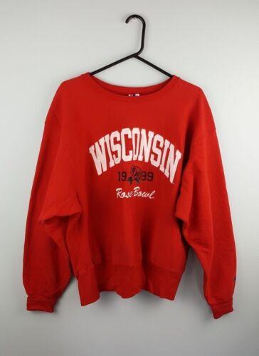 Usa Athletic College Sweater Jumper Overhead Pro Vk Sports L Champion Vtg Vgc 5wqa11