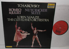 DG-10068 Tchaikovsky Romeo & Juliet Nutcracker Suite Cleveland Orch Lorin Maazel