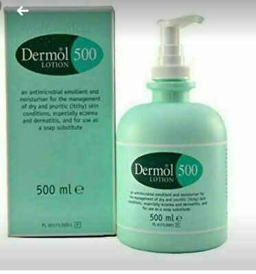 Dermol 500 Lotion 500ml - Antimicrobial Emollient ...