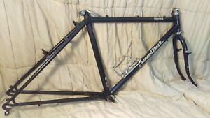 Vintage-Diamond-Back-Ascent-18-034-Tange-cromoly-frame-set-horizontal-dropouts