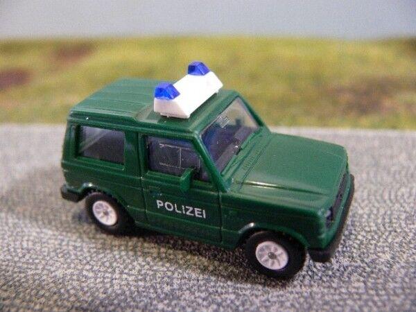 1 1 1 87 Rietze mitsubishi pajero policía 30180