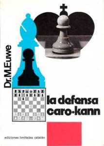 Libro ajedrez La defensa Caro-Kann de M. euwe