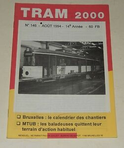 TRAM-2000-N-146-Aout-1994-TRAMWAY-AUTOBUS-STIB-TEC-CHEVALINE-N-31-GAND