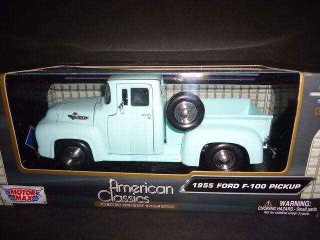 Motormax Ford F100 1955 Light Green 1/24