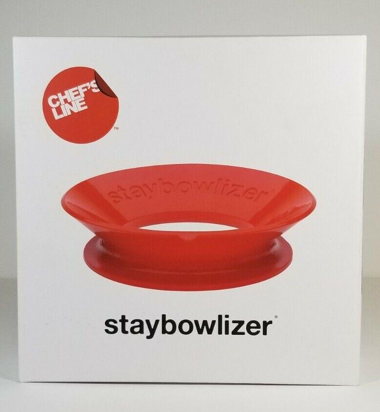 Staybowlizer Schüsselring Küchenhelfer Silikon Weiß