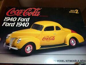 AMT 1940 FORD COUPE COCA-COLA COKE 1/25 MODEL CAR MOUNTAIN