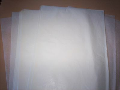 "12  LARGE WAXED CRAFT PAPER SHEETS - 15"" x 10"" - DIE CUTTING EMBOSSING SOAP WRAP"