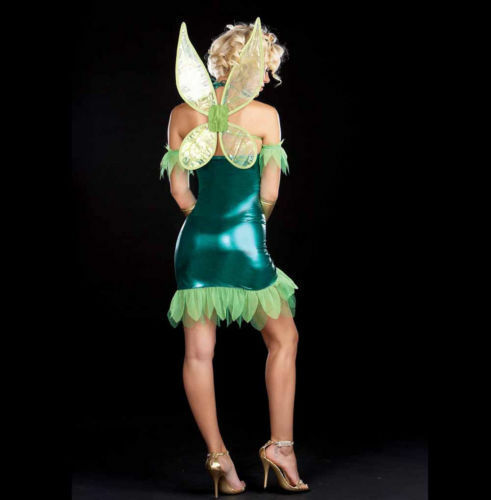 DREAMGIRL 5886  Women/'s Lil/' Green Fairy Costume several sizes NEW reg $54.99