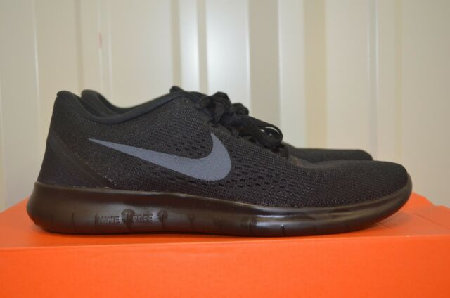 aaacc2deb5dd6 Nike RN Mens Running Shoes 9 Triple Black 831508 002 for sale online ...