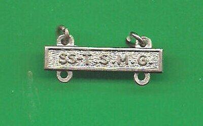 US MARINE SS TSMG THOMSPON SUB MACHINE GUN  BAR BADGE QUALIFICATION B