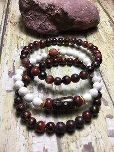 Jewelry & Watches Practical Healing Handmade Tigers Eye Stone Anklet/ankle Bracelet W/swarovski Elements Usa