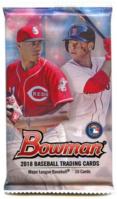 34721f15653 Frequently bought together. MLB 2018 Bowman Baseball Trading Card Pack
